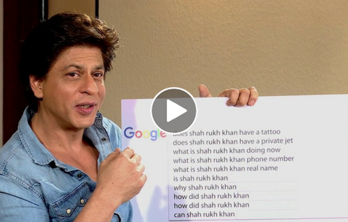 SRK answers Internet's Most Searched