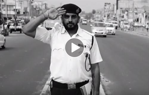 Saluting Indian Traffic Policepersons -