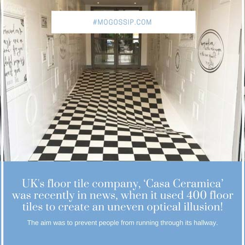 UK's floor tile