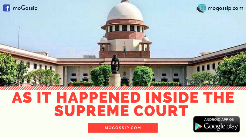 WHAT HAPPENED INSIDE SUPREME COURT