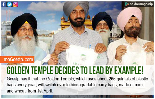 Golden Temple decides to lead by example!