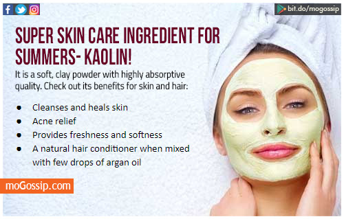 Add kaolin to your skin-care regime to combat summer woes