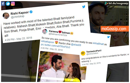 Fans Are Convinced Rishi Kapoor Has Confirmed Ranbir And Alia's Relationship With His Tweet