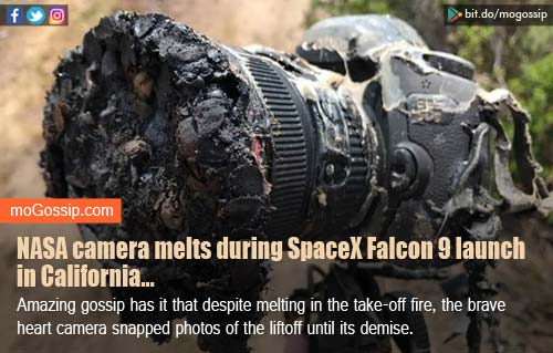 Miracle or something else? NASA camera melts during SpaceX Falcon 9 launch, but pics are here