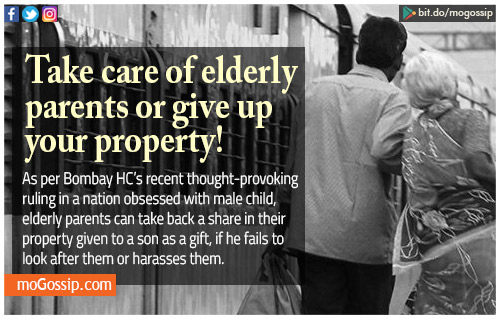 If Ill-Treated, Elderly Parents Can Now Reclaim Gifted Property From Son, Rules Bombay HC