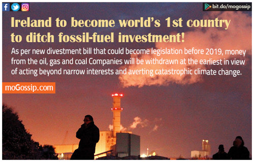 The First Country In The World To Ditch Fossil Fuel Investments