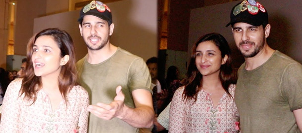 Sidharth Malhotra Spotted On A Dinner Date With Girlfriend Parineeti