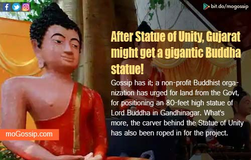 After Statue of Unity, Gujarat's Ahmedabad may get 80-feet Buddha statue