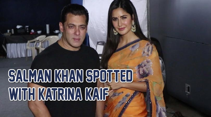 SALMAN & KATRINA SPOTTED DURING THE PROMOTION OF BHARA