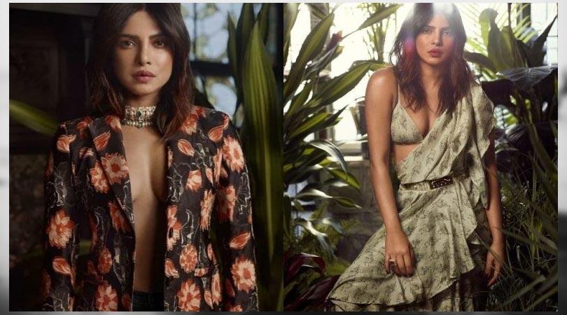 Priyanka Chopra teaches how to drape a Saree; looks stunning on InStyle Magazine Cover