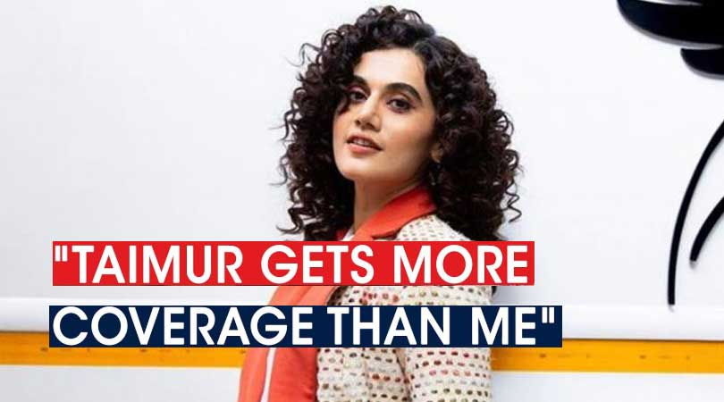 Taapsee Pannu Speaks On Nepotism In Bollywood, Sushant Singh Rajput And More.