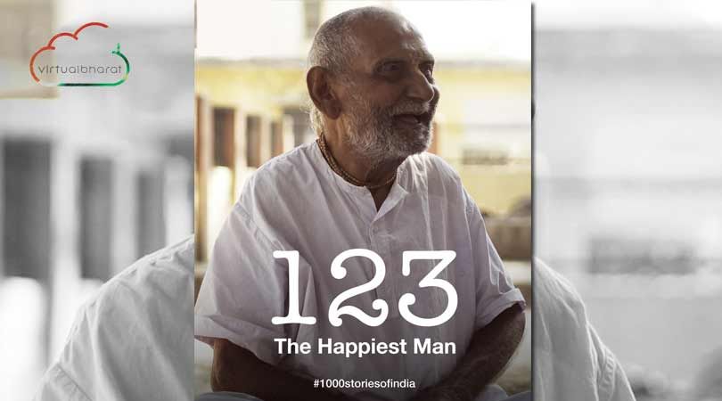 The Happiest Man | Virtual Bharat
