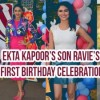 Ekta Kapoor's son Ravie's first birthday celebration